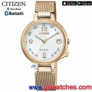 CITIZEN EE4032-80A(公司貨,保固2年):::Eco-Drive,光動能+藍牙,W410,IOS,Android,萬年曆,鬧鈴,來電訊息提示,15種鈴聲,刷卡或3期,EE403280A